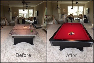 expert pool table recovering in Pine Bluff content img3